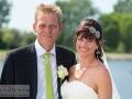 Et mere formelt billede af brudeparret