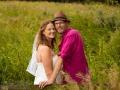 Brudepar i den dejlige danske natur