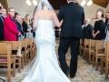 Indgang med brudens far