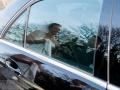 Spejling i Mercedesen