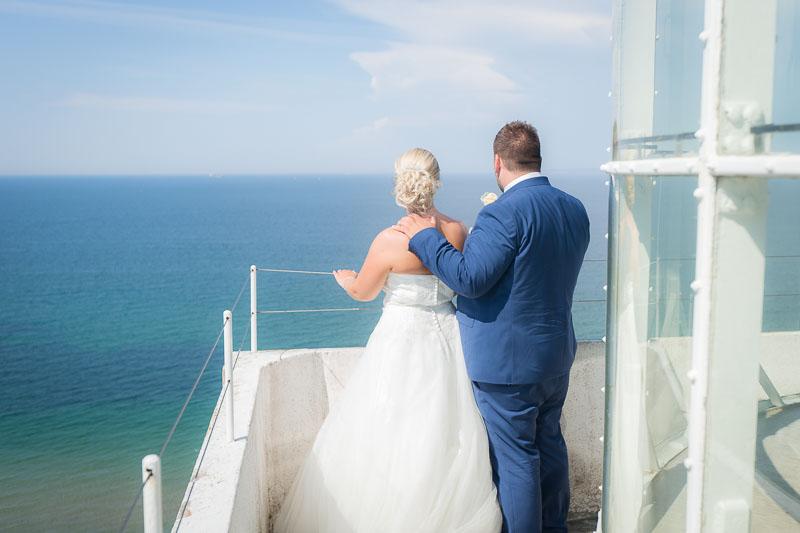 Bryllupspar i fyrtårn