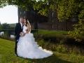 Brudepar i Gissenfeld slotspark
