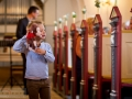 En lille gæst til bryllup i Lille Lyngby Kirke