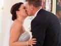 Det første kys i ægteskabet