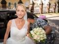 Bruden ankommer til Vor Frelser Kirke