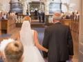 Indgang til bryllup i Vor Frelser Kirke